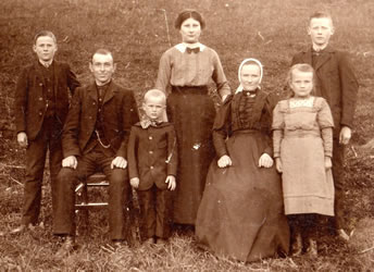 Familie Boerstoel anno 1913